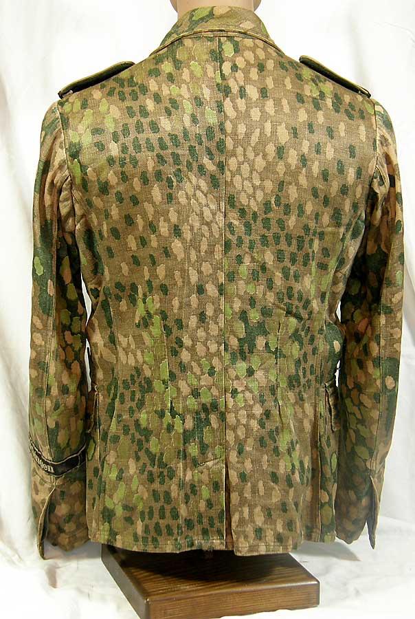 Crystal Lake Il >> Extremely rare Waffen SS dot pattern M44 tunic uniform with original Gotz von Berlichingen cufftitle