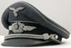 Luftwaffe officer�s visor hat (schirmutze) by Clemens Wagner