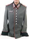 Army Artillery Oberleutnant walking out dress tunic (waffenrock)
