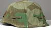 Army splinter pattern reversible to winter camouflage helmet cover