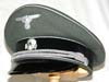Waffen SS general visor hat for the ranks of Oberfuhrer and above