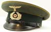 Army cavalry piped visor hat