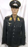 Luftwaffe Feldwebel Flight or Fallschirmjager piped tunic