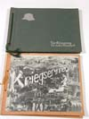 Set of two photo albums for a Luftwaffe photo reconnaissance unit
