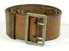 Luftwaffe officer's leather belt and open claw buckle