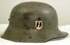 SS-VT double decal Austrian M16 transitional helmet