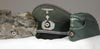 Army chaplain's set of three hats including the visor