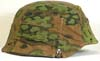 Waffen SS M40 combat helmet with Oakleaf pattern cover