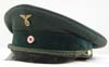 Early Reichsbahn officer's visor hat