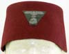 Waffen SS Handshar division walking out maroon fez