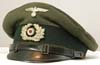 Army Jager or Penal enlisted visor hat