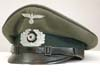 Army Chaplain's assistant enlisted visor hat