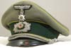 Army Nachtrichten (Signals) officer's hat with Edelweiss