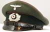 Army Artillery enlisted visor
