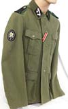 Waffen SS HANDSCHAR Division M39 tunic and field gray fez