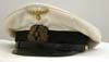 Early Kriegsmarine officer's white visor hat
