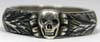 SS Totenkopfring (Honor Ring) awardedto SS officer Hunberger dated 4-20-44