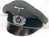 Army Transport officer's crusher cap by Erel