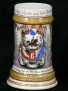 Imperial stein of Kavallerie Chevmil. Koch of the 6. Bayr. Chevaul. Reg't. Prinz-Albrecht v . Preussa