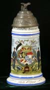 Reproduction stein named to Gem. Moser of the Luftsschiffer -Bataillon - Munchen -1910