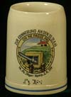 German commemorative stein for the 14. (PZ. Jager) Komp. J.R. 339