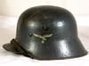 Transitional Luftwaffe M18 double decal helmet