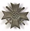 War Merit Cross 1st Class with Swords unmarked