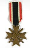 War Merit Cross 2nd Class with Swords, unmarked