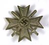 War Merit Cross 1st Class with Swords stamped 5