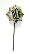 RLB enameled membership stickpin