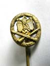 Army/Waffen SS General Assault stickpin
