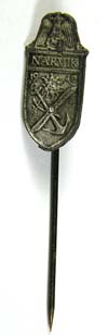 NARVIK shield stickpin