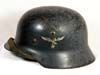 Luftwaffe double decal M35 combat worn helmet
