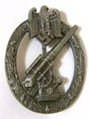Army/Waffen SS Flak badge by C.E., Juncker