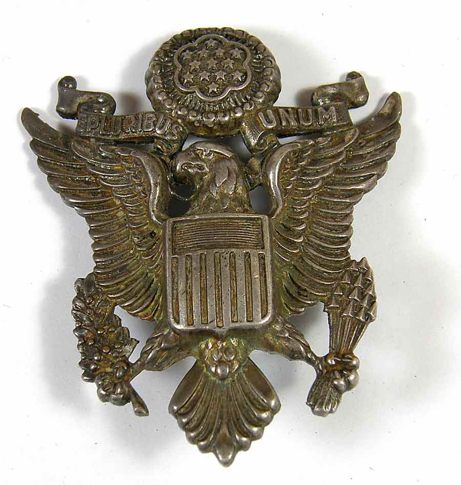 N_S_ Meyer Inc Sword http://www.oakleafmilitaria.com/US_Cloth_Insignia.html