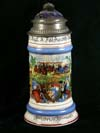 Imperial German Army stein of Friedrich Alsmau