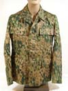 SS M44 hbt cotton fabric dot pattern camouflage tunic