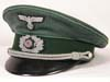 Army Gebirgsjager ( Mountain troops) officer's visor hat