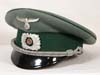Customs officer's visor hat