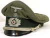 Army Transport officer�s visor hat with edelweiss