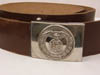 SA parade dress leather belt and buckle