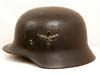 Luftwaffe officer's M35 double decal combat helmet