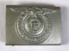 Mint Waffen SS nco/enlisted belt buckle, unmarked
