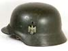 Army M40 single decal combat helmet by SE