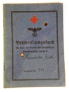 DRK Deutsches Rote Kreutz nurses employment book