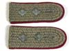 Imperial Prussian 5th Hussars pair of sewn-in boards