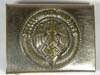 Hitler Youth belt buckle by KHM RZM 4/49
