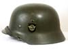 Polizei M35 double decal helmet