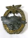 Kriegsmarine E-Boat badge , 2nd pattern