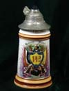 Imperial German Army stein of Rervervist R�hrer